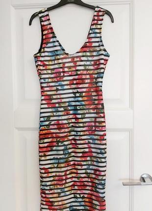 Яркое летнее платье forever 21