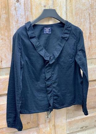 Синяя блуза от abercrombie&fitch