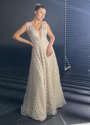 Свадебное/вечернее/выпускное платье