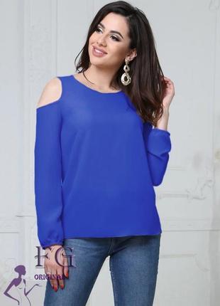 """Женская модная блузка большого размера """"renata"""" 50-52"""