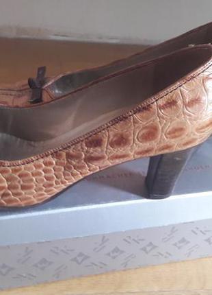 Туфли кожанные германия
