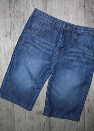 Подростковые джинсовые шорты шорти бриджи шорты джинс slim denim co 13-14 лет