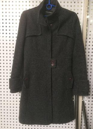 Шерстяное пальто итальянский бренд kor@kor