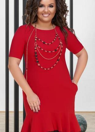 Красивое платье montella