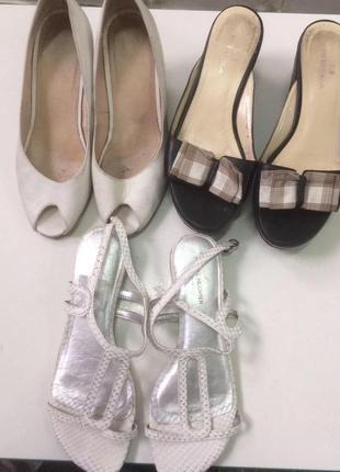 Обувь на лето продам одним лотом