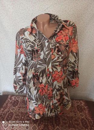 Блузка, рубашка женская 48-50р.