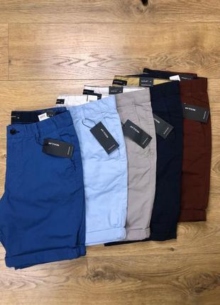 Коттоновые мужские шорты reserved  распродажа мод.890