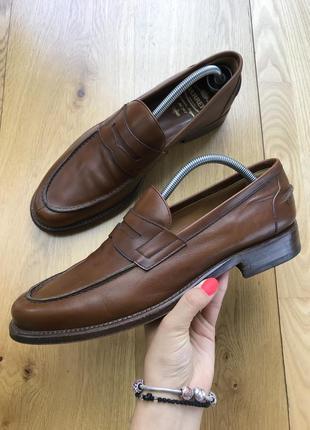 Кожаные туфли barrett santoni made in italy