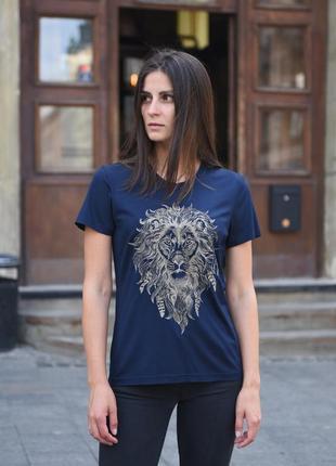 Футболка женская «лев» batiar