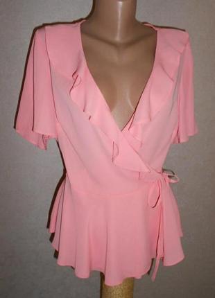 Блузка на запах