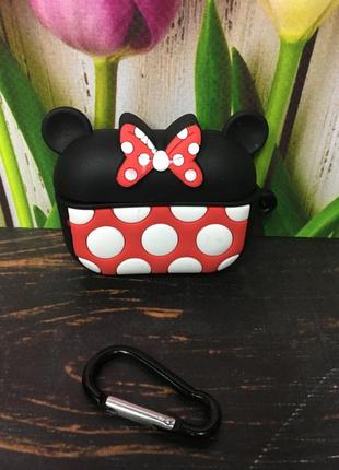 Чехол для airpods 1/2 , airpods pro /3 minnie mouse ❤️