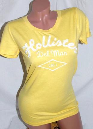Hollister ! шикарная брендовая футболка - m