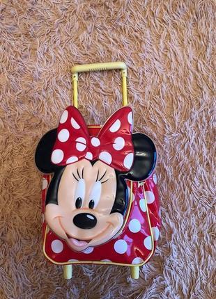 Детский чемодан рюкзак