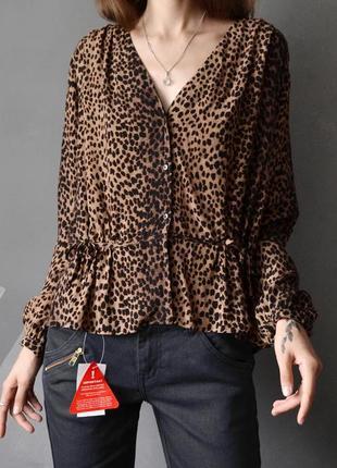 Очень красивая блуза в принт h&m из новых коллекций