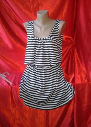 Сарафан морячка.платье плаття