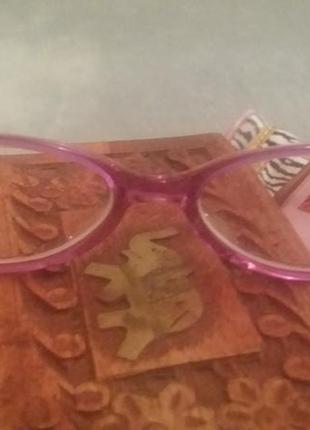 Розовая оправа cat,  francois pinton paris vintage 1980г ,  made france