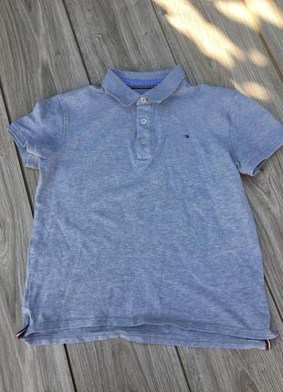 Стильное актуальное поло футболка тенниска tommy hilfiger