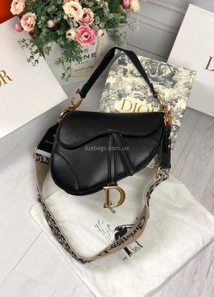 Кожаная брендовая сумочка седлоо