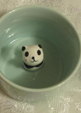 Необычная кружка чашка с пандой новая