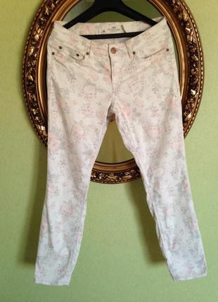 Укороченные зауженные джинсы h&m