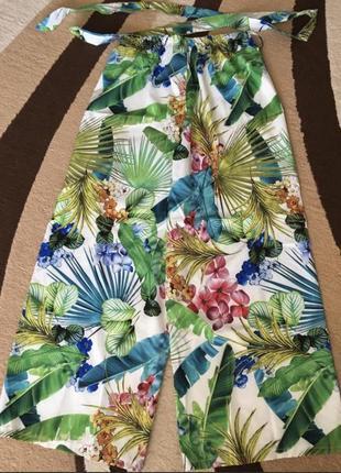Штаны кюлоты модные тренд