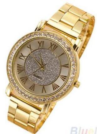 Супер модные часы под золото