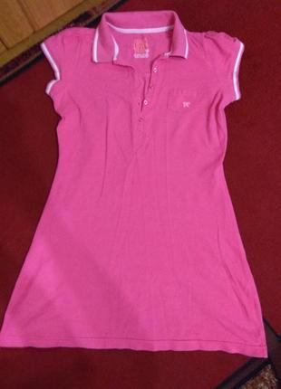 Классное яркое летнее платье туника evie р. 44-46
