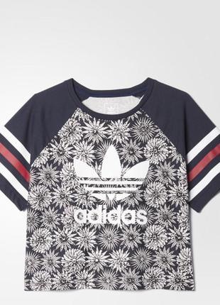 Adidas футболка топик оригинал