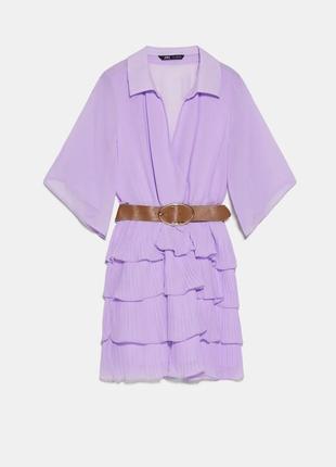 Супер цена с поясом платье zara сарафан mango1 фото