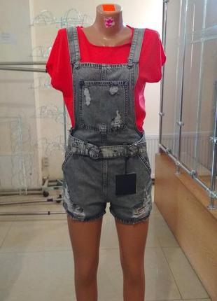 Комбинезон джинсовый cracpot