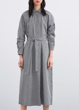 Платье/рубашка zara