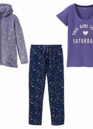 Теплый костюм для дома пижама
