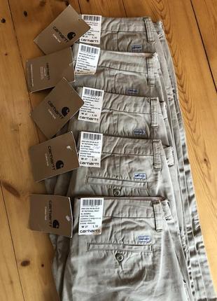 Женские брюки штаны чиносы carhartt