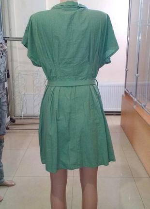 Платье на пуговицах с пояском турецкое4 фото