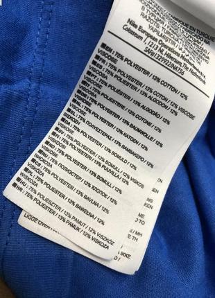 Синяя футболка найк nike оригинал биг лого air4 фото