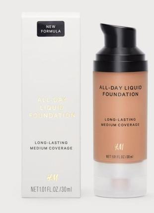 Тональный крем all day liquid foundation h&m