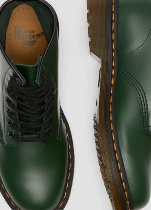 Черевики dr. martens 1460 зелені smooth leather original.зелені,чоловічі