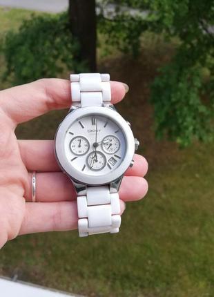 Часы керамические dkny ny4912