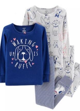 Пижама картерс 7т собачки