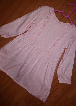 Платье  вискоза индия 3-4года