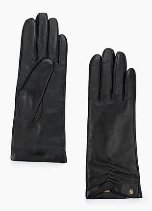 Элегантные классические черные перчатки с сенсорами touch screen 16 ukr 6 inch