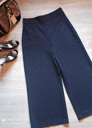 Шикарные кюлоты, широкие штаны, брюки р. 48- 50/l brend zara