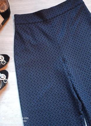 Шикарные кюлоты, широкие штаны, брюки р. 48- 50/l brend zara2 фото