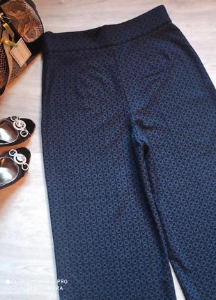 Шикарные кюлоты, широкие штаны, брюки р. 48- 50/l brend zara6 фото