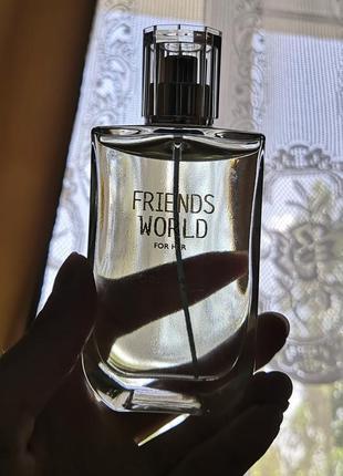 Friends world for her женская туалетная вода