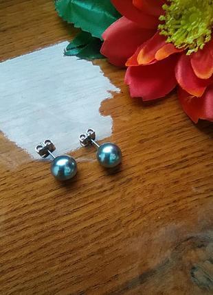 Сережки-пусети перли (серьги) від avon