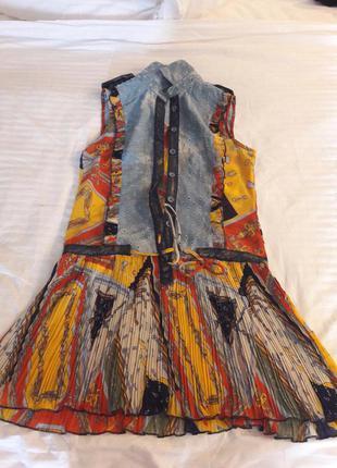 Красивенное платье roccobarocco,оригинал