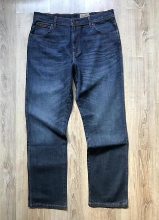 Мужские стрейчевые джинсы wrangler 36/32 texas stretch