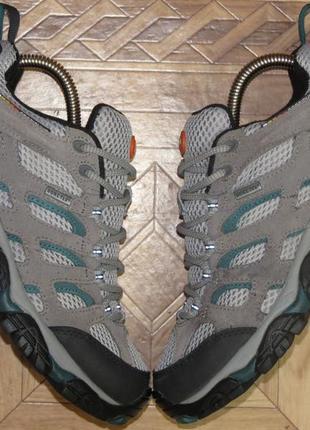 Треккинговые кроссовки ботинки merrell gore-tex(оригинал)р.38