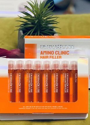 Филлер   для волос с аминокислотами farmstay - 13 мл